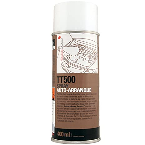 Auto-arranque en spray 400ml.