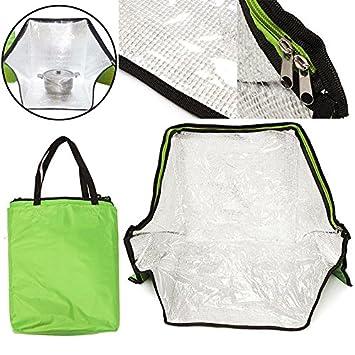 Bolsa de horno portátil y solar verde para cocinar al aire libre ...