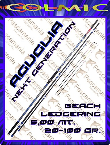 Canna Colmic Aguglia NX New Evolution 20 – 100 gr MT 5.00 Beach Ledgering