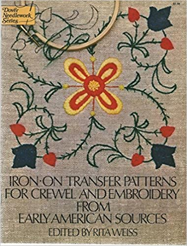 Iron On Transfer Patterns For Crewel And Embroidery From Early