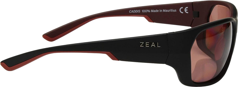 6d9f4fa37d6 Amazon.com  Zeal Optics Unisex Caddis Atlantic Blue W Polarized Horizon  Blue Lens One Size  Clothing