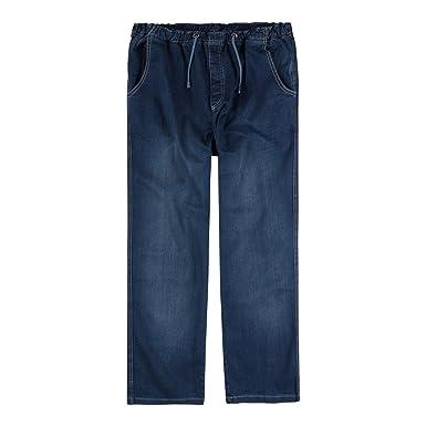 778818509b74 Abraxas XXL Jeans-Hose mit Gummibund stone-wash  Amazon.de  Bekleidung