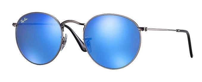 Ray-Ban Round Metal 029/17 Gafas de sol, Matte Gunmetal, 50 ...