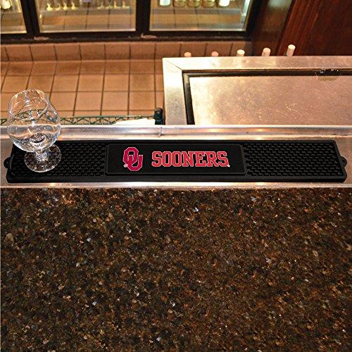 FANMATS NCAA University of Oklahoma Sooners Vinyl Drink Mat