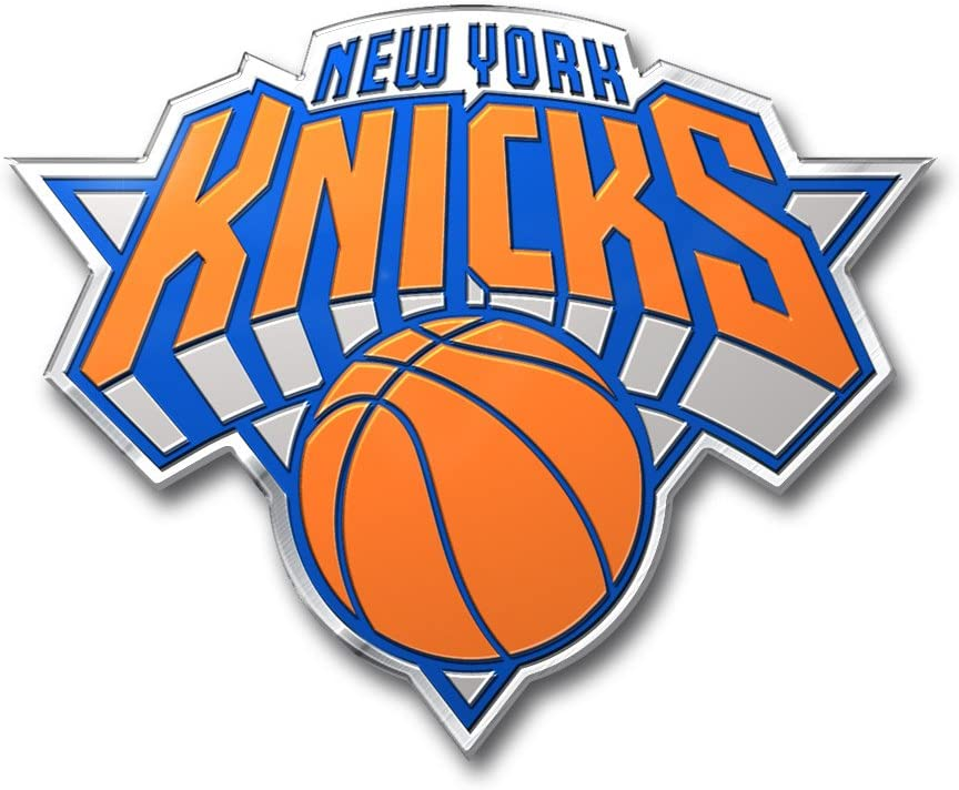 Patch Collection New York Knicks NBA Colored Aluminum Car Auto Emblem