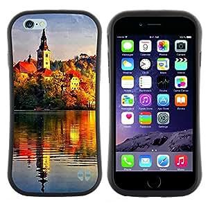 "Hypernova Slim Fit Dual Barniz Protector Caso Case Funda Para Apple (4.7 inches!!!) iPhone 6 / 6S (4.7 INCH) [Sunset Beautiful Nature 72""]"