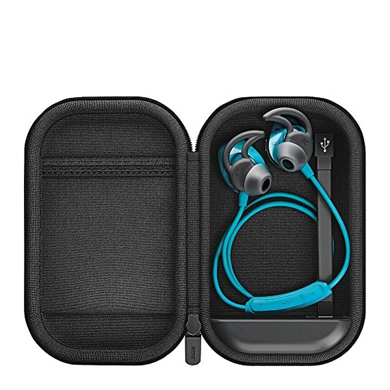 Bose SoundSport charging case 2 Micro USB for charging sound sport wireless or sound sport Pulse wireless headphones on the go.Wired Charging. Built-in rechargeable battery extends listening time up to 18 hours Compact, durable case protects your headphones as they charge