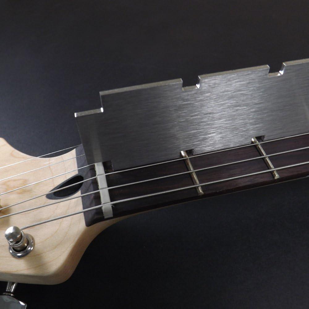 Regla de cuello de guitarra de doble escala (62,9 cm/24,75