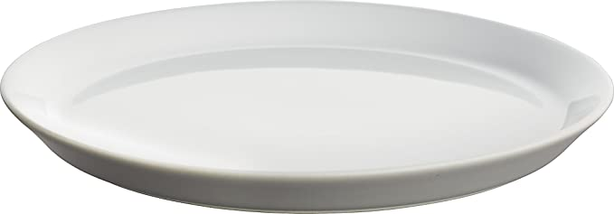 Alessi MW01//1Dressed Flat Plate White