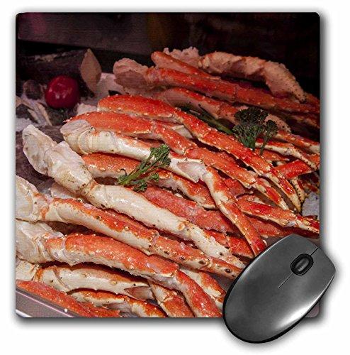 3dRose USA, Massachusetts, Boston, Market King Crab Legs-US22 JEN0084 Mouse Pad, 8