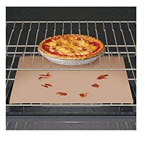 Trenton Gifts Non-Stick Specially Coated Fiberglass Oven Liner | Use for Electric, Gas, and Toaster Ovens