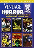 Vintage Horror (Corpse Vanishes / Dead Men Walk / Human Monster / King of the Zombies / Mad Monster / Monster Maker) (6-DVD)