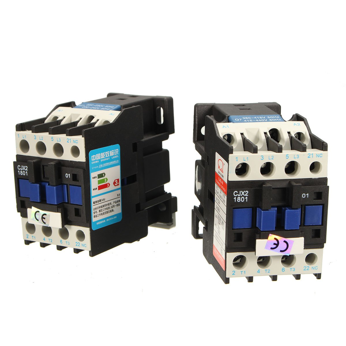 CJX2-1801 AC /380V 18A Contactor Motor Starter Relay 3 POLE+1NC COIL 4KW 7.5KW by SPK603