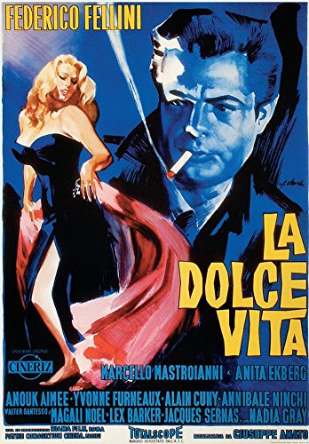 Laminated La Dolce Vita - Vintage Style Italian Poster 20 x