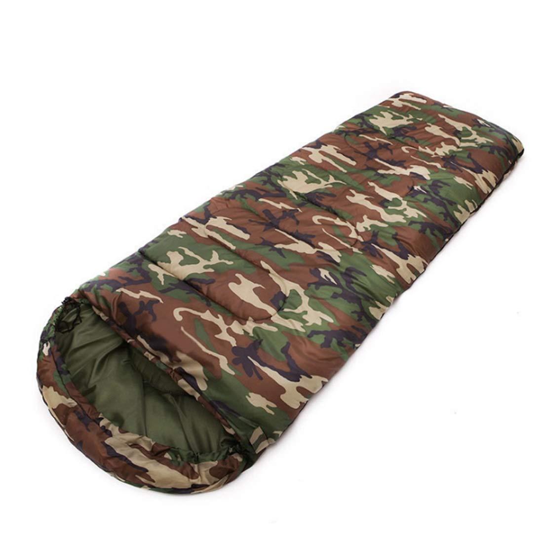Camouflage  Xasclnis Sac de Couchage étanche avec Sac de Compression (Couleur   Camouflage)