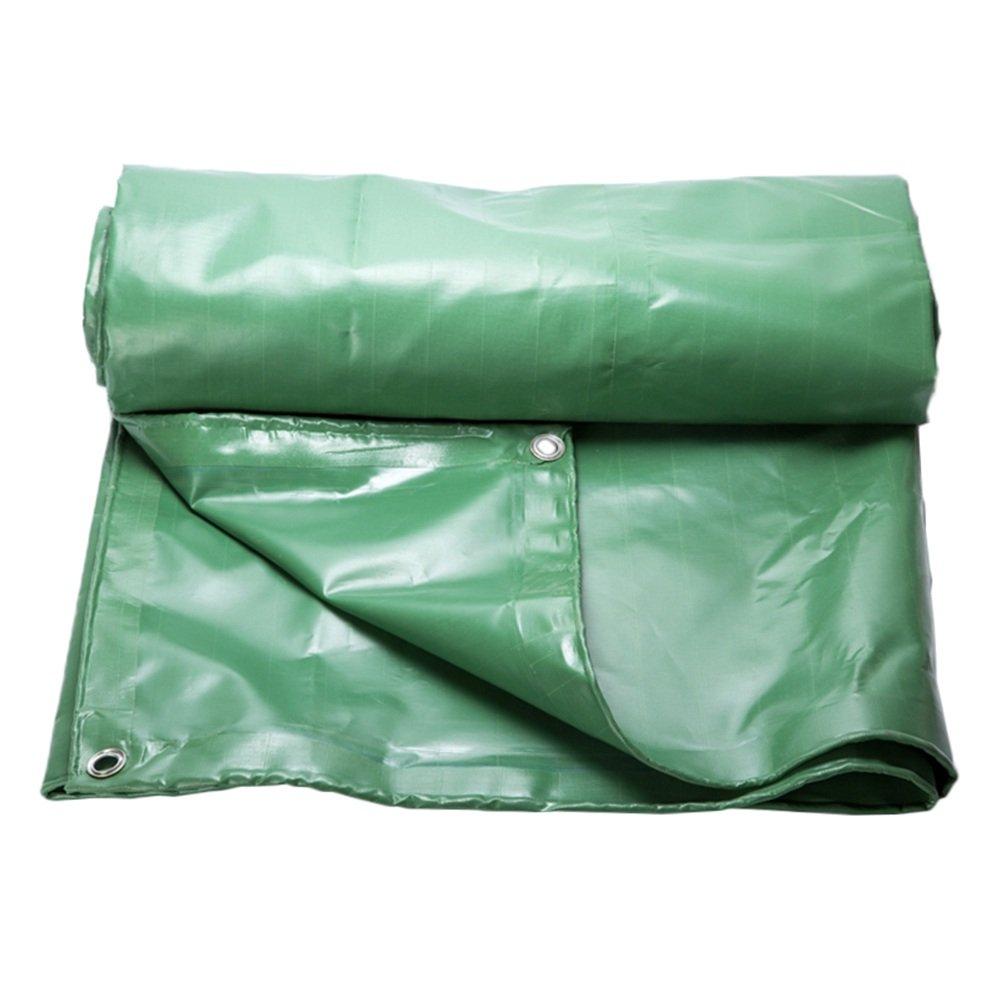 PENGFEI オーニング 防水シート トラック 日焼け止め 車両 防塵の 農業 産業用アプリケーション 耐高温性 耐腐食性、 厚さ0.6mm、 700g / m 2、 9サイズ ( 色 : 緑 , サイズ さいず : 2X2M ) B07BP459FS 2X2M|緑 緑 2X2M
