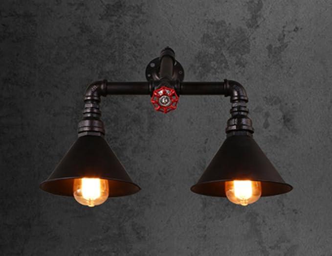 Zxldp lampade da parete applique da parete per acquascivoli retro