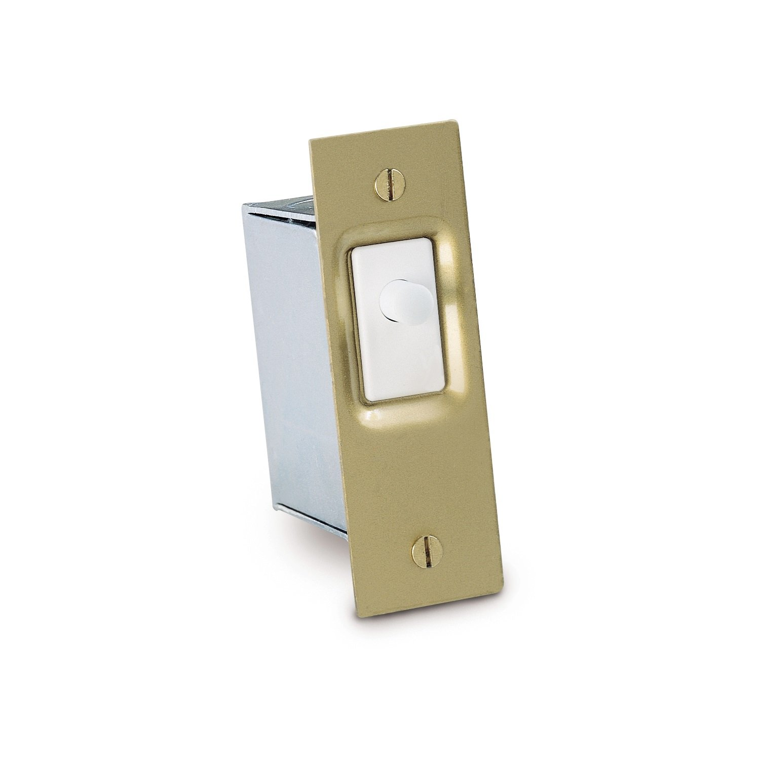 Gardner Bender GSW-SK Electrical Door Switch, SPST, Normally ON-Mom, 16 A/125V AC, White