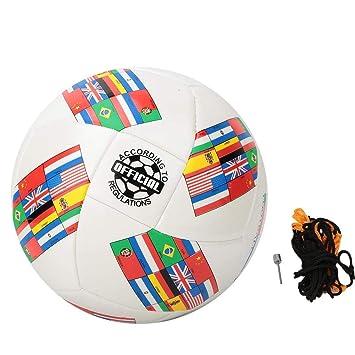 VGEBY1 Fútbol, balón de fútbol Juego al Aire Libre Entrenamiento ...