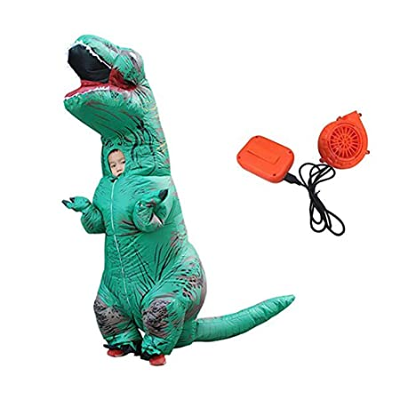 Puruitai Disfraz de Dinosaurio Inflable para Halloween ...