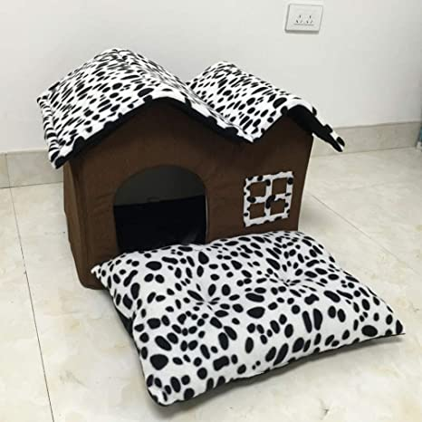 SELCNG - Doble habitación Doble Techo Villa de Lujo, Doble caseta para Mascotas, Color