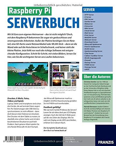 Raspberry Pi Serverbuch Amazoncom Books - Raspberry minecraft spielen