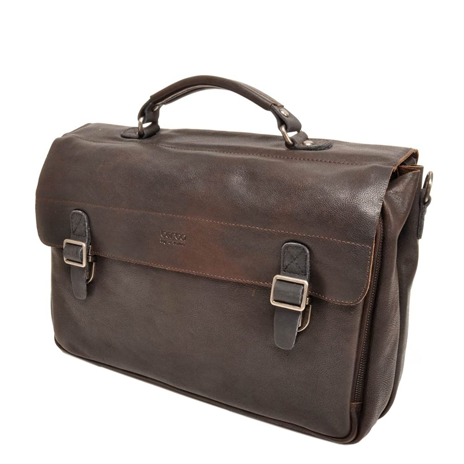 berba Bern 315 Business satchel in dark brown