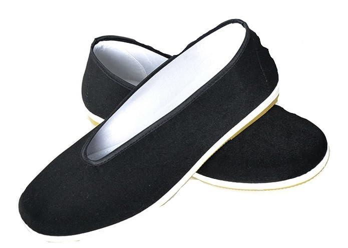 DADAWEN Zapatillas de Artes Marciales de Lona para Hombre