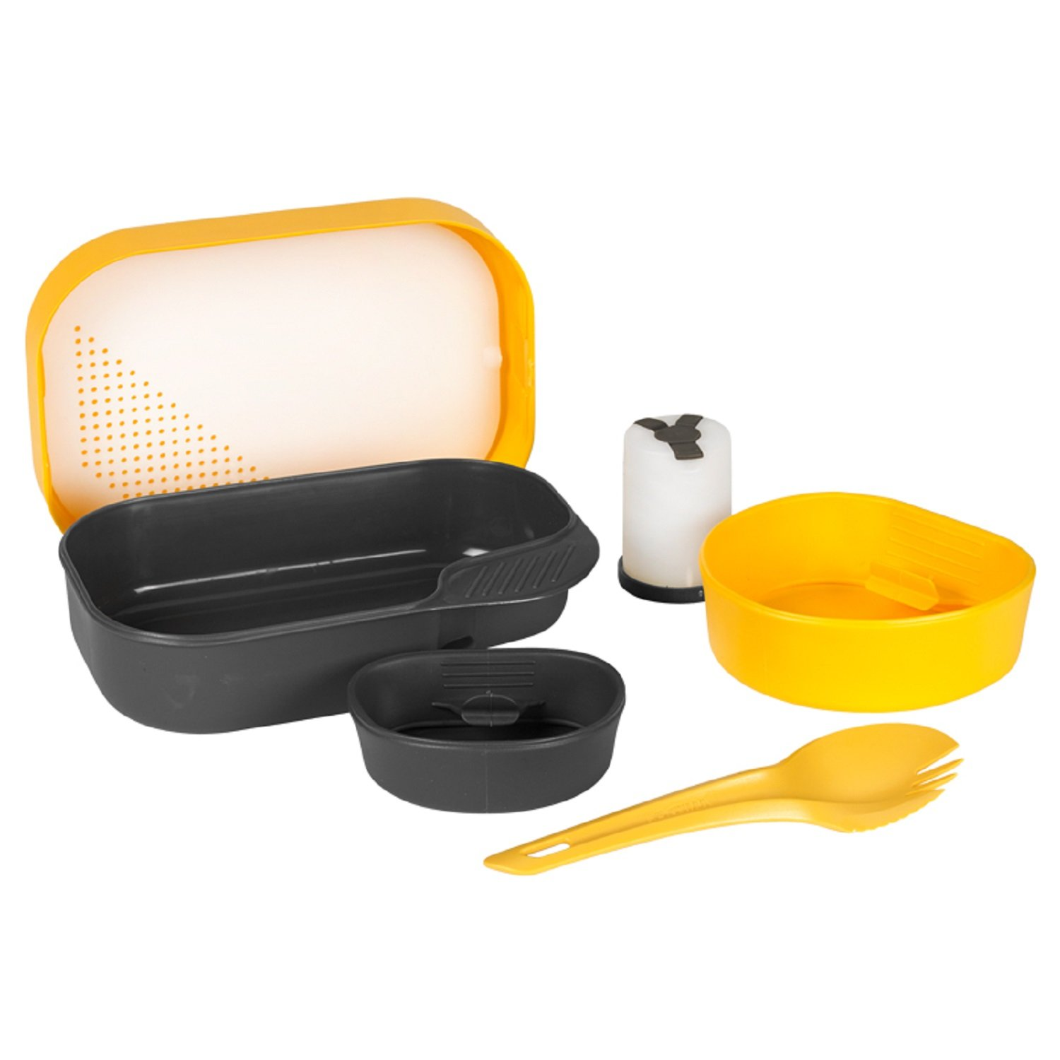 Wildo Camp-A-Box W/Spork, Lemon
