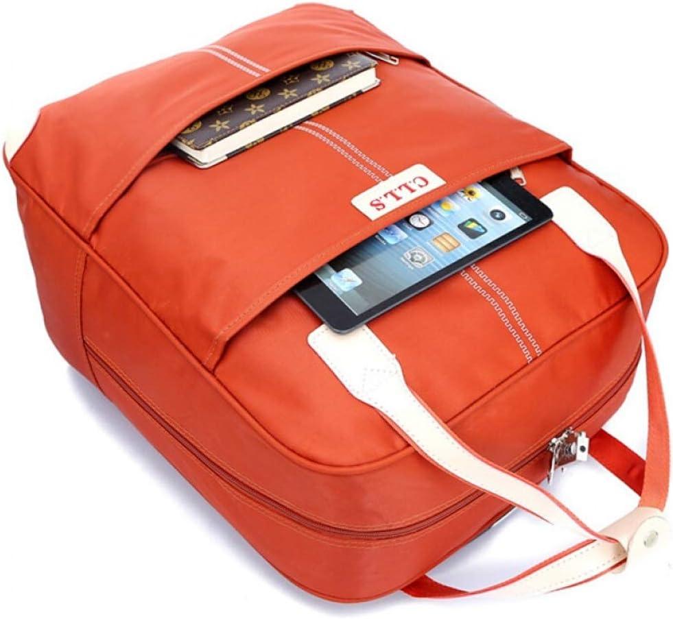 Minmin-lgx Travel Bag Trolley Bag Female Luggage Bag Short-Distance Travel Business Bag Light Portable Trolley Boarding Package Color : Black