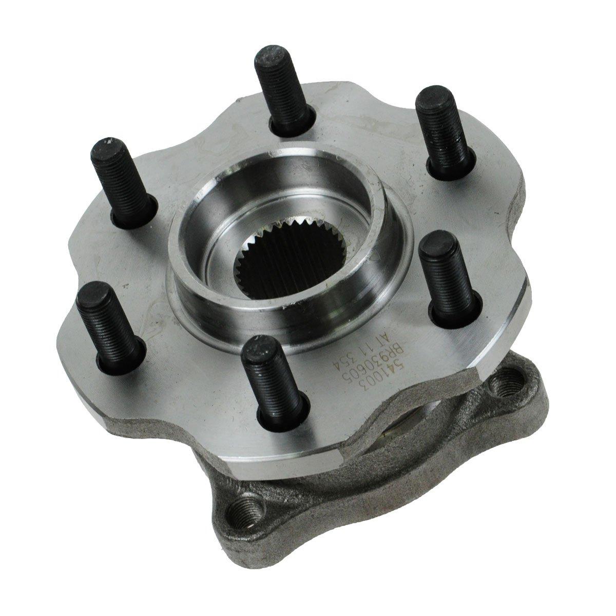 TRQ Wheel Bearing /& Hub Assembly Rear for 05-12 Nissan Pathfinder