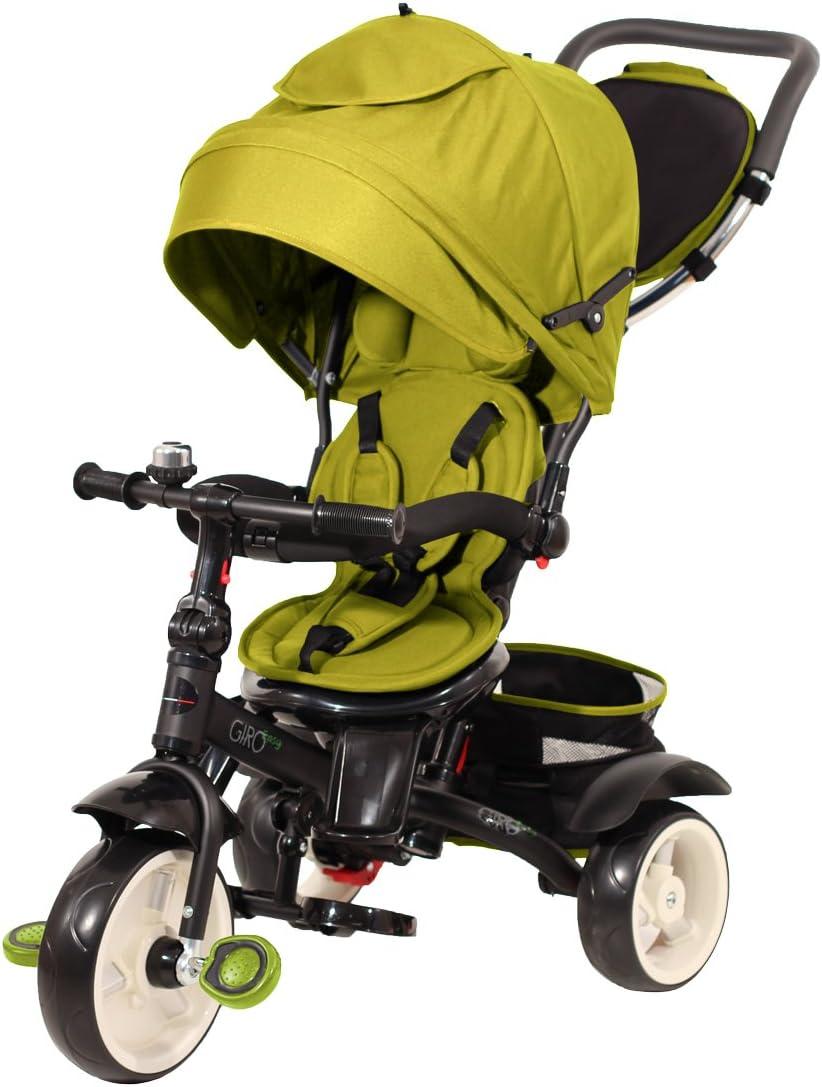 Baby 's Clan giroeasy.10–Triciclo, Color Verde Claro