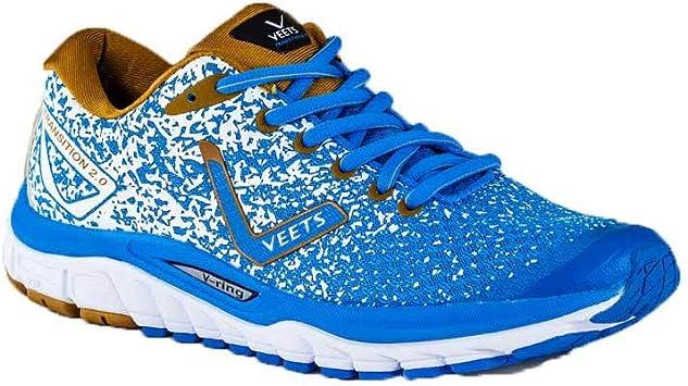 VEETS – Zapatos Running Hombre Transition 2.0 Azul/marrón ...