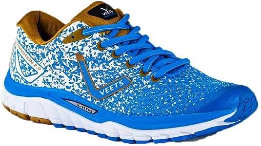 VEETS – Zapatos Running Hombre Transition 2.0 Azul/marrón/Blanco PE 2018: Amazon.es: Deportes y aire libre