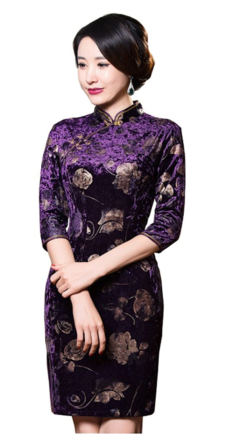 Angcoco Womens Chinese Traditional Apparel Women's Dress