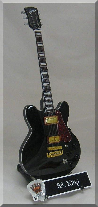 BB King Lucille guitarra en miniatura W/Nombre de etiqueta: Amazon ...