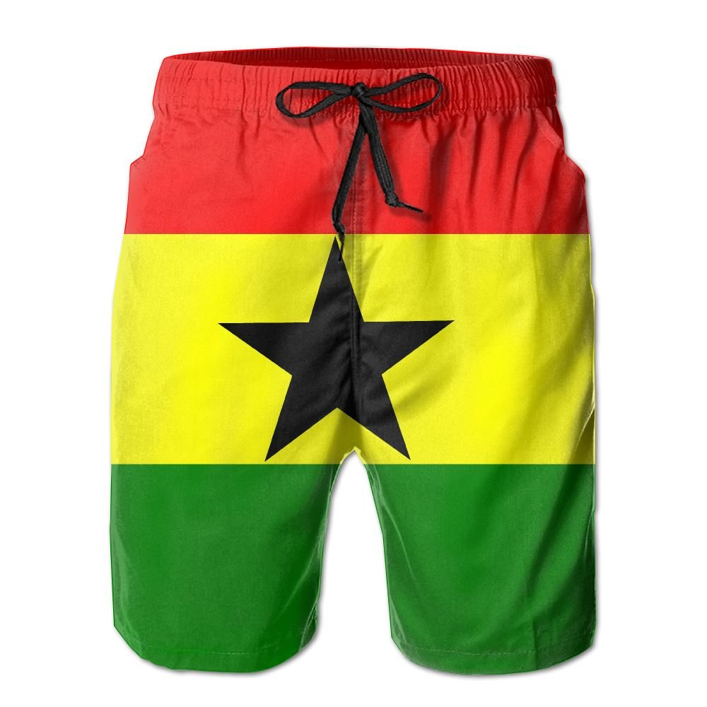 Rniom New Cartoon Fashion Flag Shorts Beach Casual Shorts For Man