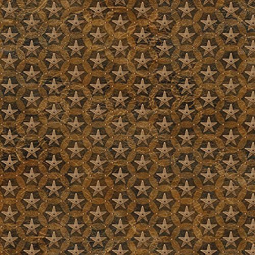 Stars, Western Look, Brown Fabric, Wild and Free, Northcott, Novelty, By the Yard ()