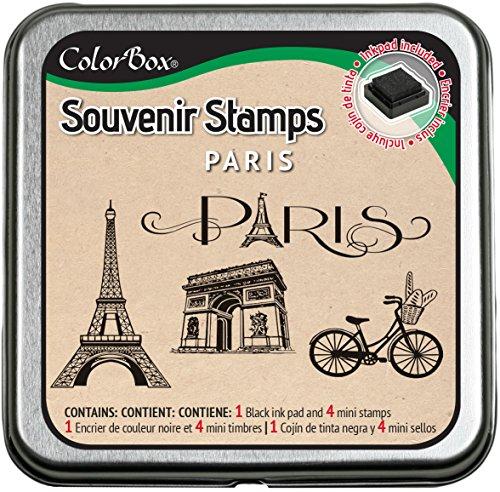 CLEARSNAP ColorBox Souvenir Stamps, Paris -