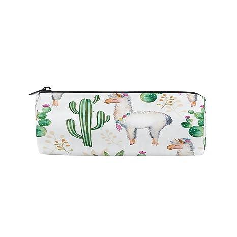 Amazon.com: KUWT Estuche para lápices, acuarelas, cactus ...