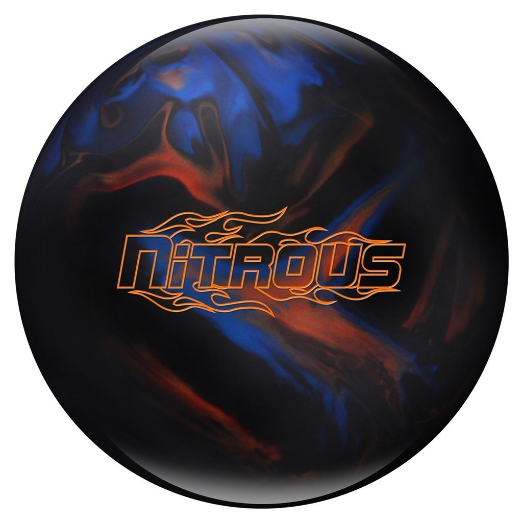 Columbia 300 Nitrous Bowling Ball, Black/Blue/Bronze, 10 lb