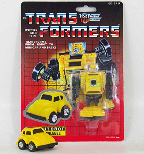 Transformers G1 Autobot Mini Vehicle Warrior Bumblebee Re-issue Brand NEW MISB (Singapore Cartoon Costume)