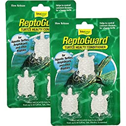 Tetra 19514 ReptoGuard Water Conditioner Block, 6-Count