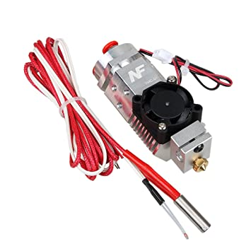 Sharplace Multi-Color Extruder Hotend Kit de 0.4/1.75mm ABS 3D ...