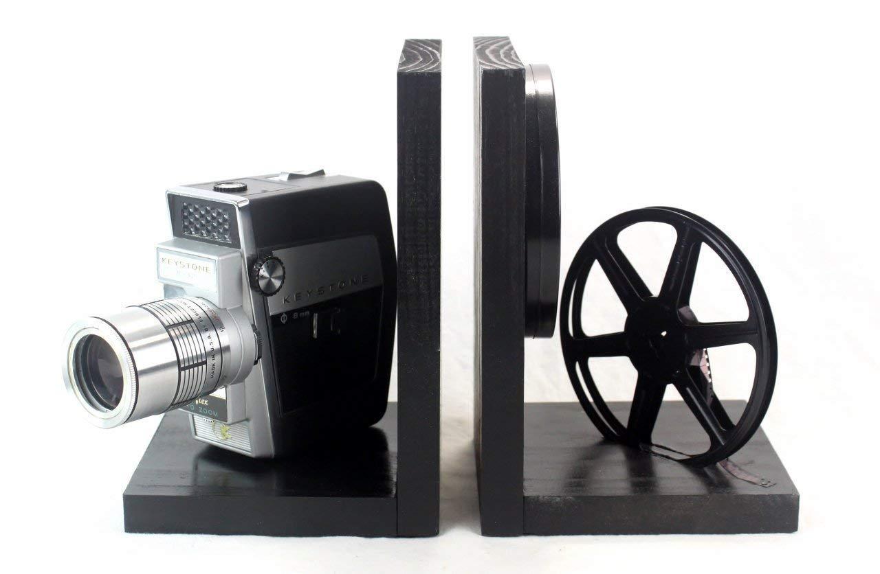 Amazon com: Vintage Camera Bookends - Keystone Reflex - DVD