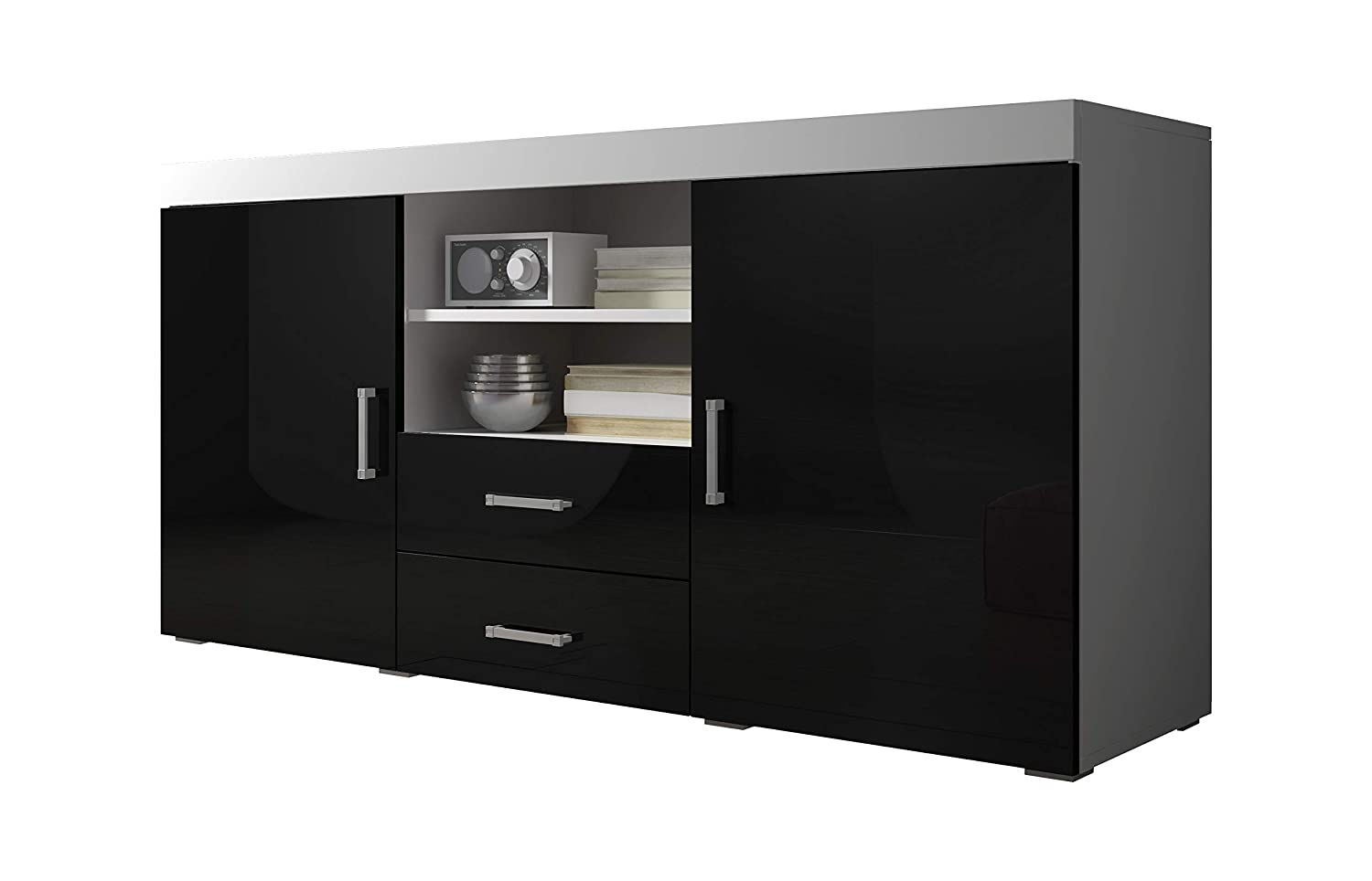 size 40 b6991 0a960 Sideboard Cupboard Buffet Mambo 164cm 2 Doors 2 Drawers Body ...