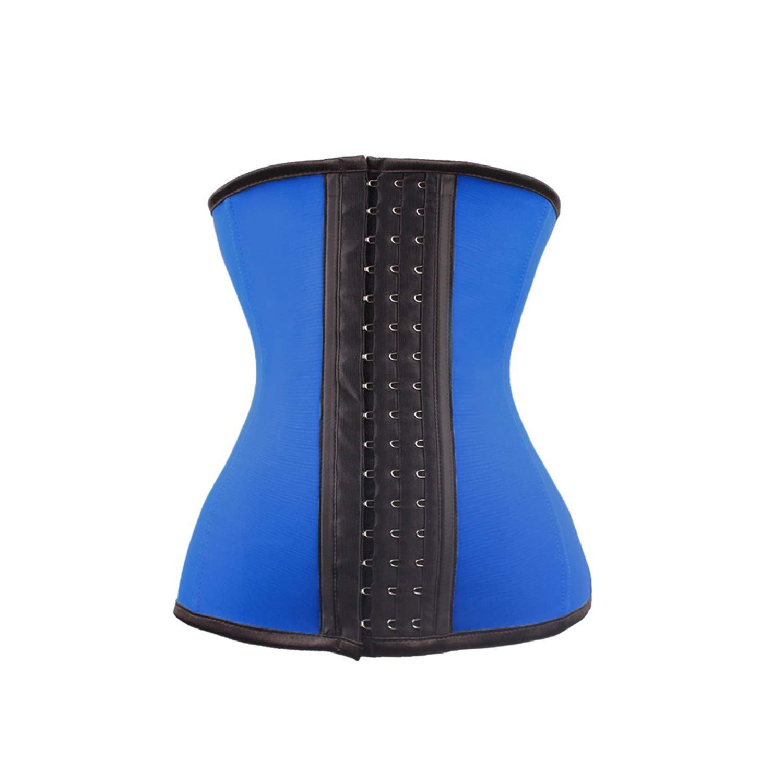 Cincher-Steuerung 4 Steel Boned Latex Waist Cincher Body Shaper Slim Girdle Belt Underbust Women Shapewear Waist Trainer Corset