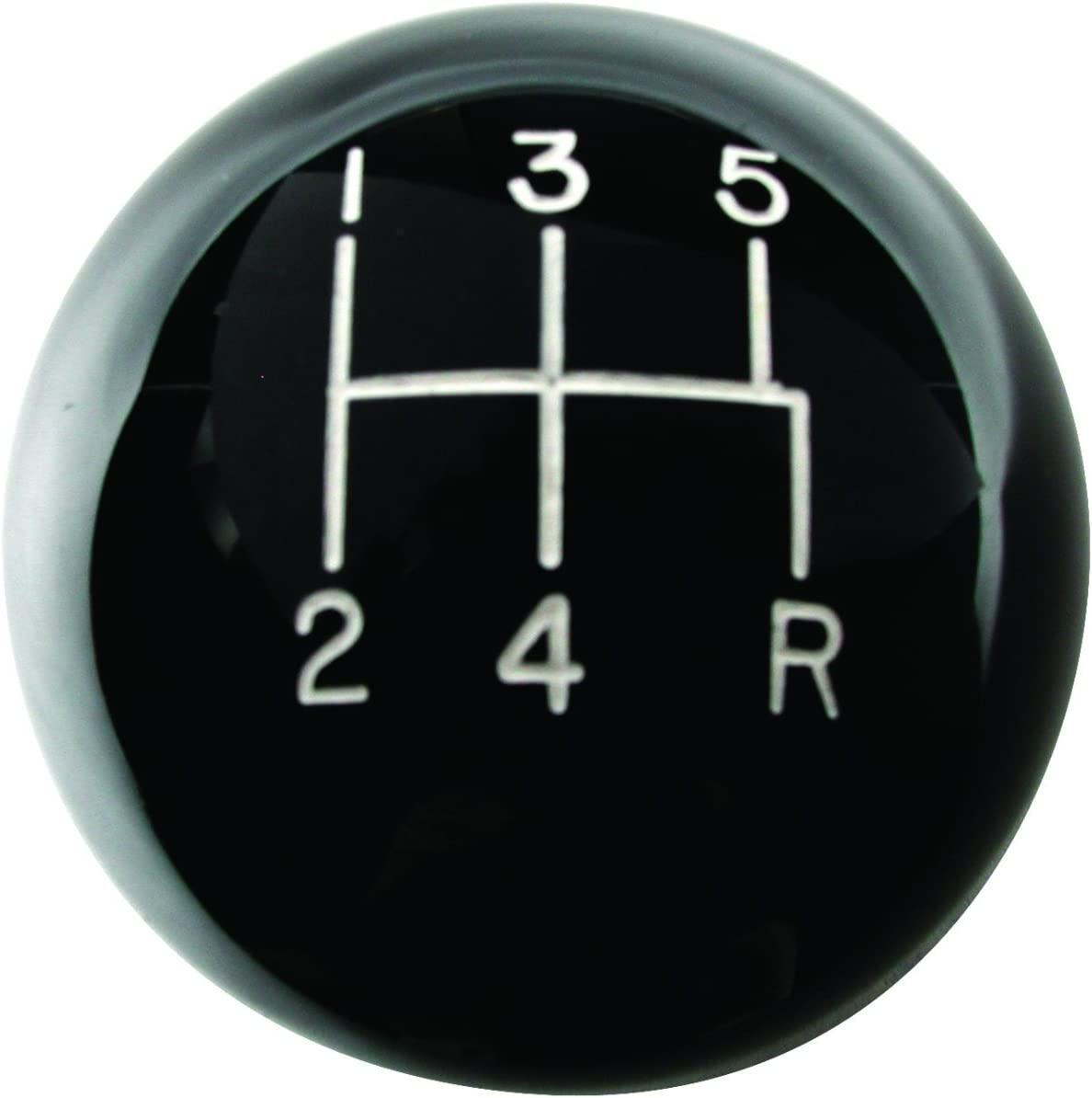 American Shifter 146400 Black Retro Shift Knob with M16 x 1.5 Insert Red Officer 11 - General of Air Force