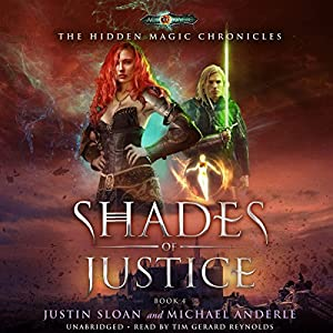 Shades of Justice Audiobook