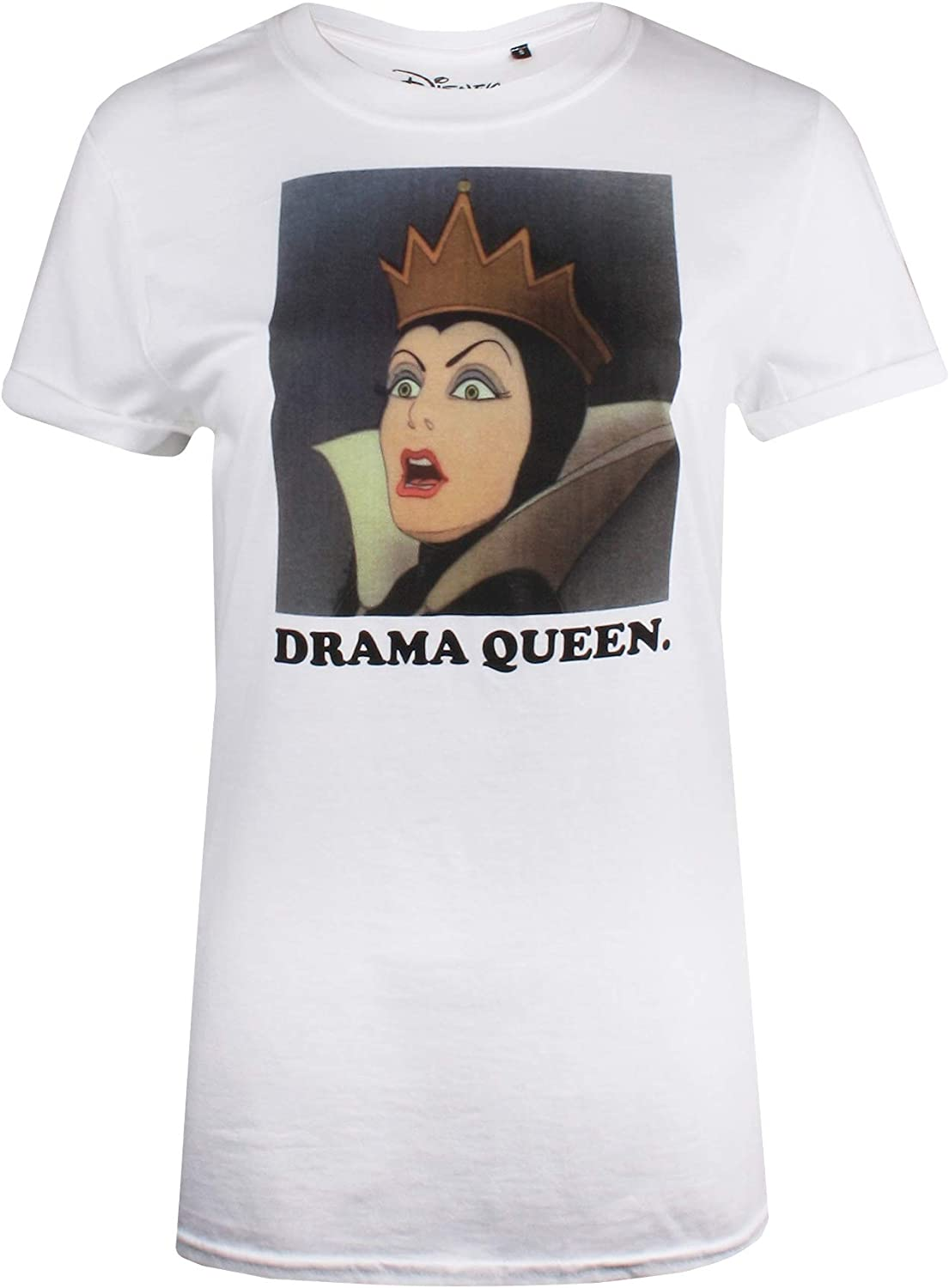 Disney Snow White-Drama Queen Camiseta para Mujer